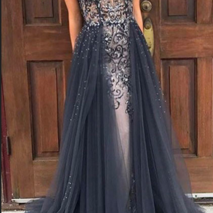 Charming Prom Dress,Sexy Prom Dres..