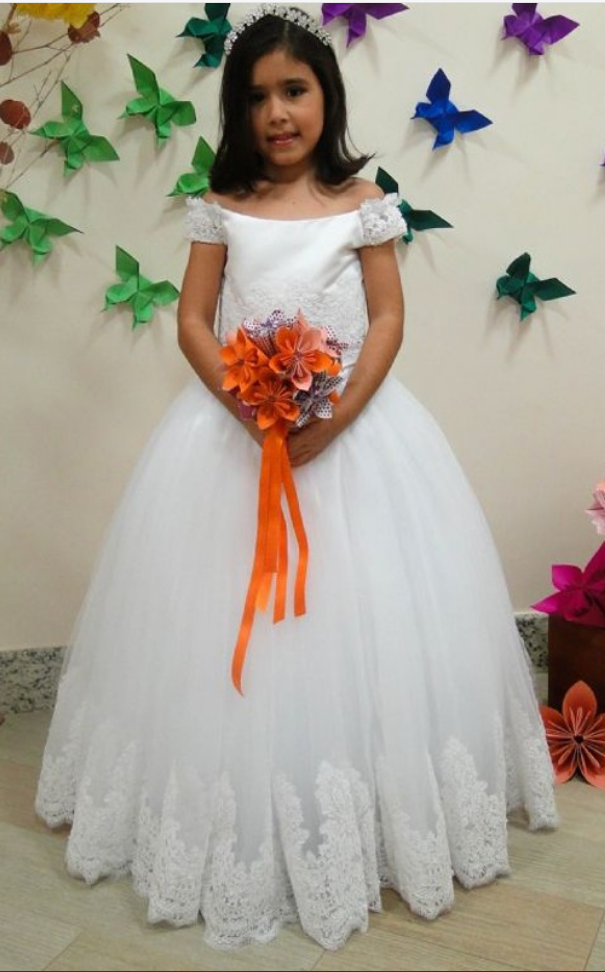 Off the shoulder flower girl dress,luxury flower girl dress,girls party dresses, little girl dress, princess flower girl dress, ball gown flower girl dress, girls communion dress, junior bridesmaid dress,girls wedding party dress,girls pageant dress