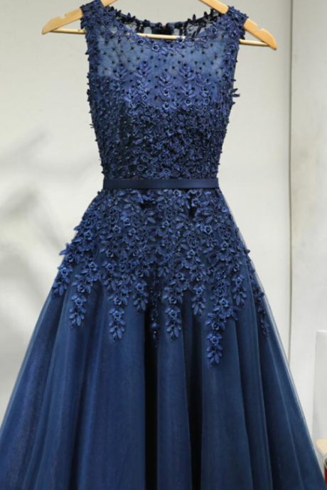Royal Blue Homecoming Dresses,Cocktail Dresses,Homecoming Dresses,Lace Homecoming Dresses,Cute Formal Dresses