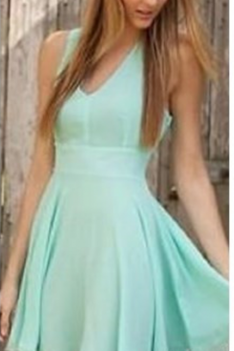 Deep V Neck Cross Criss Straps Homecoming Dresses,Mini Short Cocktail Gowns Sweet Pleat Homecoming Dresses ,Custom Made