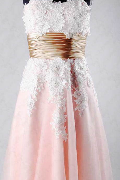 Short Pink Homecoming Dresses
