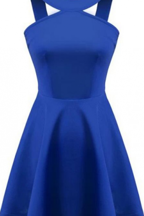 Simple Homecoming Dresses,A-line Homecoming Dresses,Royal Blue Homecoming Dresses,Short Prom Dresses,Party Dresses