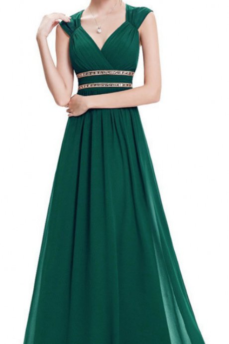chiffon prom dresses, wedding party dresses, graduation party dresses,formal dresses