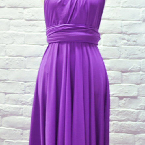 Purple Simple Prom Dresses,Short Homecoming Dress